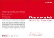 Déclaration - CARITAS - Schweiz