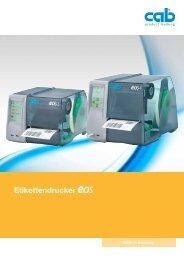 Etikettendrucker Technische Daten - bei der WWP-GmbH