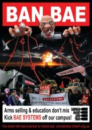 Ban Bae flyer A5 - CAAT Universities Network - Campaign Against ...