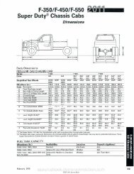 Super Duty® Chassis Cabs - Ford Fleet