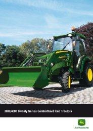 3000/4000 Twenty Series ComfortGard Cab Tractors - John Deere