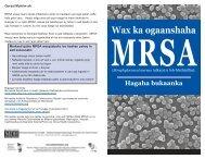 Somali (PDF: 516KB/6 pages) - Minnesota Department of Health