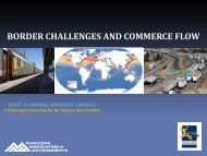 border challenges and commerce flow - Joint Planning Advisory ...