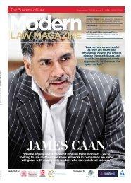 JAMES CAAN - Modern Law Magazine