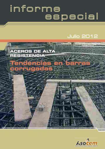 ACEROS DE ALTA RESISTENCIA Tendencia en barras ... - Asocem