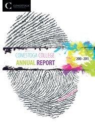Annual Report - Conestoga College
