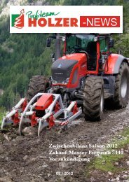 08 / 2012 - Profiteam Holzer