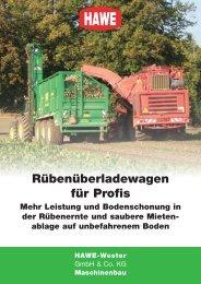 Das Prospekt über den RUW (PDF-Download) - HAWE Wester