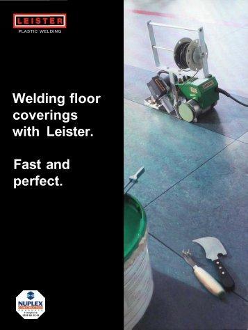 Leister Vinyl Welding - Nuplex Construction Products