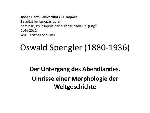 Oswald Spengler - Der Untergang des Abendlandes.pdf