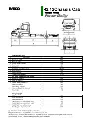 42.12Chassis Cab - Iveco