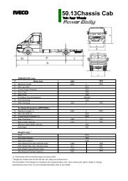50.13Chassis Cab - Iveco