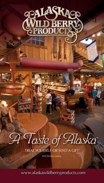 2012 Holiday Catalog - Alaska Wild Berry Products