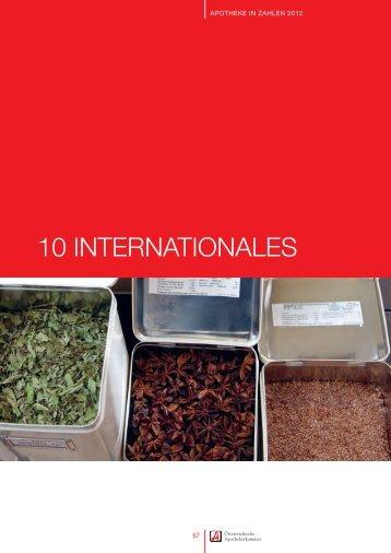 10 INTERNATIONALES