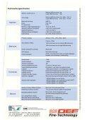 Intelligente brandmeldcentrale CA3000 - DEF Fire-Technology - Page 6