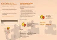 HAUS LACKENBACH - pro mente Burgenland
