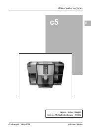 Melitta C5 Filter Coffee Machine