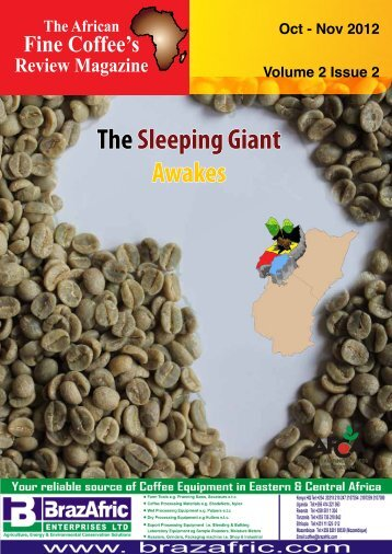 African Fine Coffees Review Special Edition Oct-Dec - EAFCA