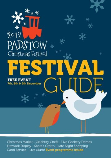 FREE EVENT - Padstow Christmas Festival