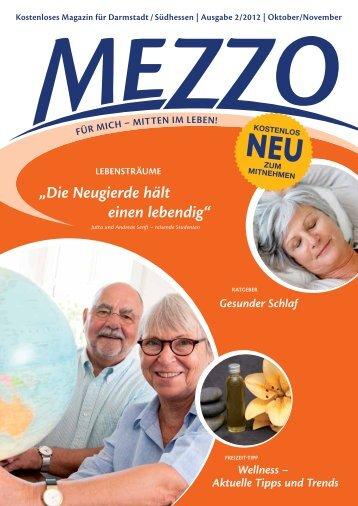 """""""Die Neugierde hält einen lebendig"""" - MEZZO-Magazin"""