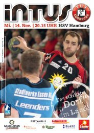 Mi. | 14. Nov. | 20.15 UHR HSV Hamburg - Fanclub Red Devils eV