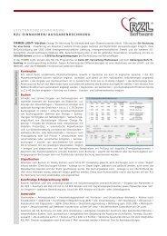 Leistungs- beschreibung - RZL Software GmbH