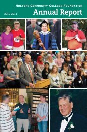 HCC Foundation's Annual Report - Holyoke Community College