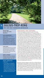 JULIUS-TRIP-RING - Tourismus Region Hannover eV