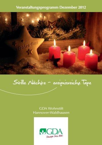 Veranstaltungskalender Hannover-Waldhausen