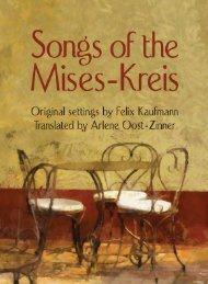 Songs of the Mises-Kreis - Ludwig von Mises Institute
