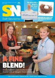 Shona Robison visits Scotland's first Aroma Café at Glasgow Royal ...