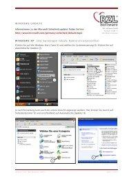 WINDOWS UPDATE - RZL Software GmbH