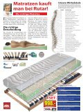 Die richtige Matratze Matratzen kauft man bei Rutar! - Seite 6