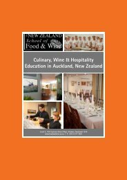 3 Day Wine: Introduction to NZ Wine NZSFW Certificate in NZ Wine