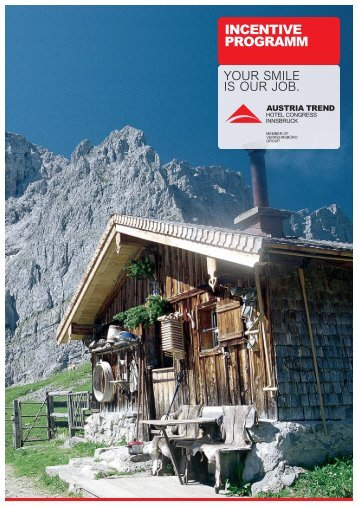 INCENTIVE PROGRAMM - Austria Trend Hotels & Resorts