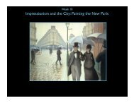Impressionism and the City: Painting the New Paris