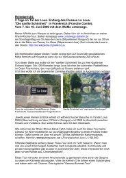 Reisebericht: 2 Tage im Tal der Loue. Entlang des Flusses La Loue ...