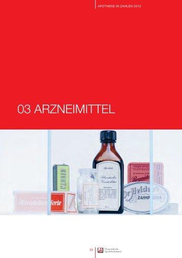 03 ARZNEIMITTEL
