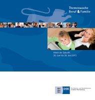 Themenwoche Beruf & Familie - Lokale Bündnisse für Familie