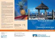MAURITIUS - Raiffeisenbank Reute-Gaisbeuren eG
