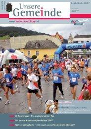 Tour 2007 - Stadtgemeinde Mürzzuschlag