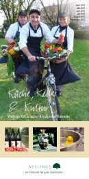 Wellings kulinarischer & kultureller Kalender - Wellings Parkhotel