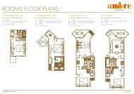 Ambre Hotel Mauritius - Floor Plan - Sun Resorts