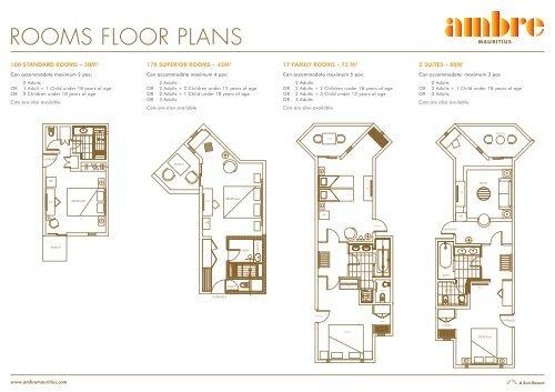 Ambre Hotel Mauritius - Floor Plan