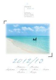 Malediven Mauritius Seychellen Afrika Asien ... - Strohbeck Reisen