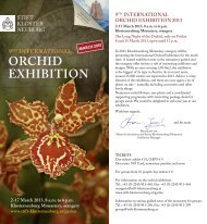 orchid exhibition 9th international - Stift Klosterneuburg