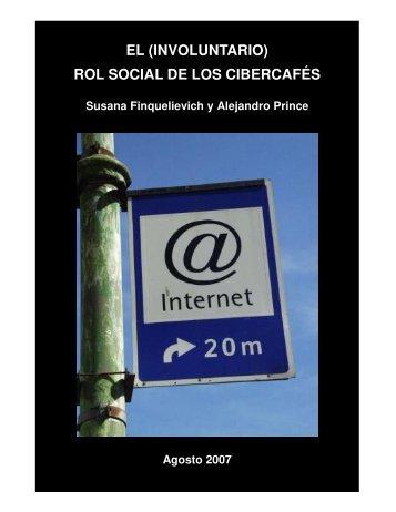 EL (INVOLUNTARIO) ROL SOCIAL DE LOS CIBERCAFÉS - OEI
