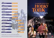 Download Honky Tonk-programmet - VisitOdsherred
