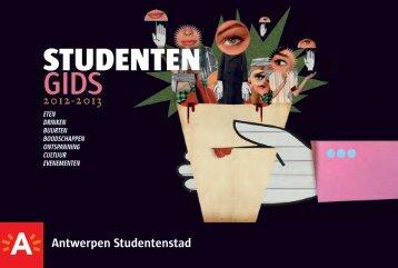 Studentengids - Antwerpen Studentenstad