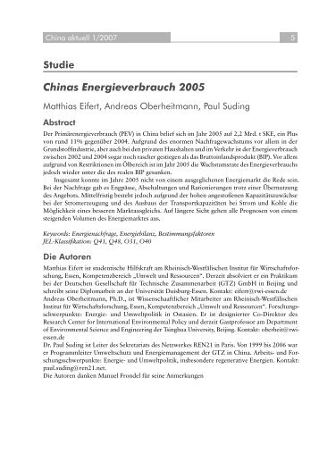 Abstract & full article - GIGA German Institute of Global and Area ...